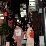 Les geisha sont parfois souriantes