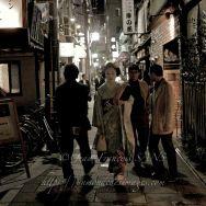Maiko dans une ruelle de Kyoto, il ya une première fois…