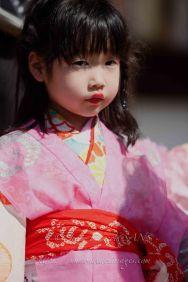 Enfant en habits de cérémonie. Nara