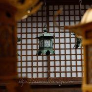 Lantenres dans le temple de mille lanternes