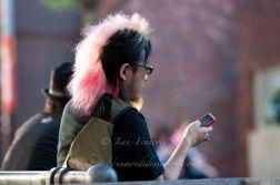 OSAKA Pink punk a America Square