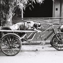 Pondichéry - sieste