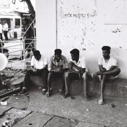 Pondichéry - dimanche avec les copains
