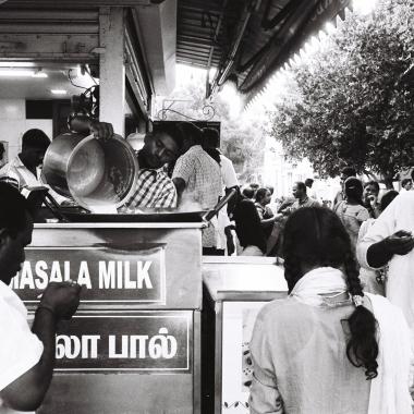 Pondichéry - masala milk