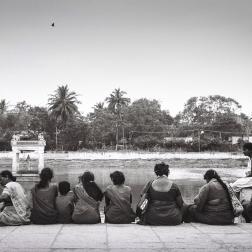 Mahabalipuram - picnic des femmes
