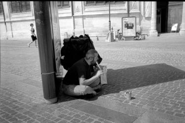 Musicien - Paris Saint Eustache - juillet 2019