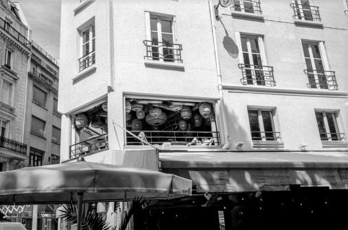 Naïade aux lanternes - Paris rue Coquillère - juillet 2019