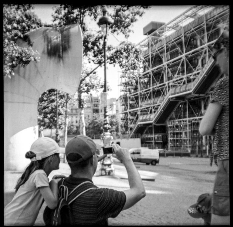 Photo souvenir - Paris Beaubourg - juillet 2019